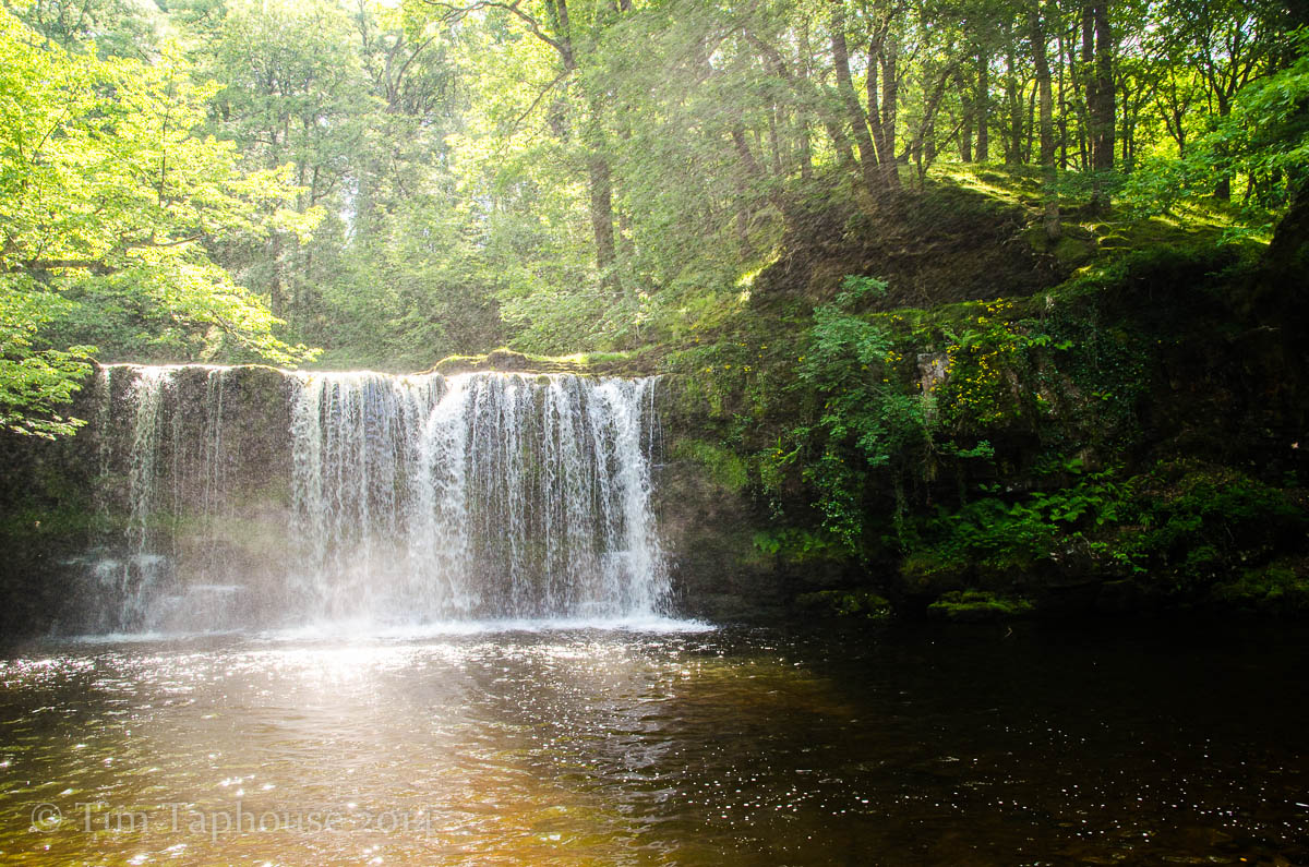 Sgwd Ddwli waterfall, Breacon Beacons